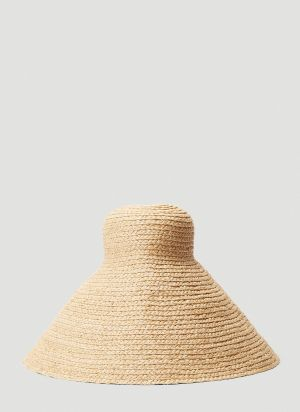 Jacquemus Le Valensole Beach Hat in Beige