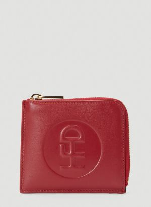 Honey Fucking Dijon Logo Coin Wallet in Red