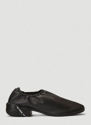 Raf Simons (RUNNER) Solaris-1 Low Slip-On Shoes in Black