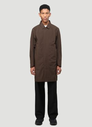 Veilance Partition Coat in Brown