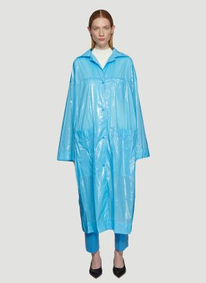 Kwaidan Editions Oversized Lab Coat in Blue