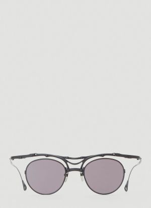 Innerraum OJ144 Round Sunglasses in Grey