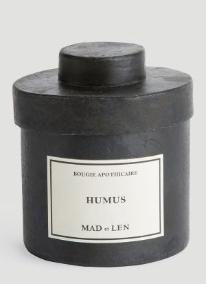 Mad & Len Humus Candle in Black