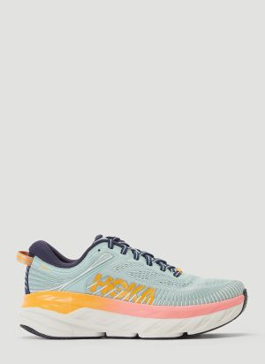 Hoka One One Bondi 7 Sneakers in Blue