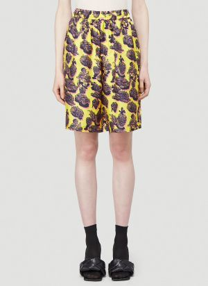 Stella McCartney Timothy Shorts in Yellow