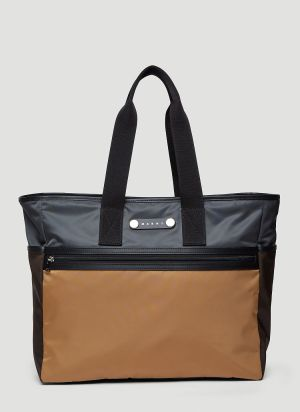Marni Hackney Tote Bag in Brown