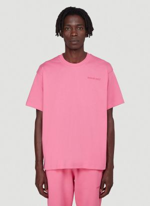 adidas by Pharrell Williams PW Basics T-Shirt in Pink