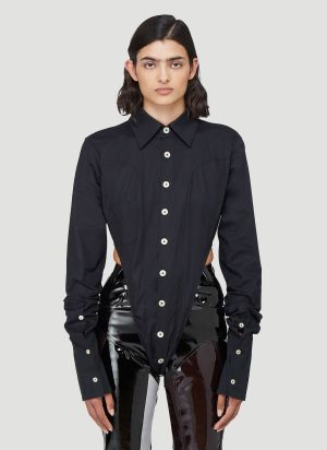 Ninamounah Bipeds Long-Sleeved Top in Black