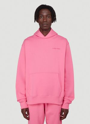 adidas by Pharrell Williams PW Basics Hooded Sweatshirt in Pink