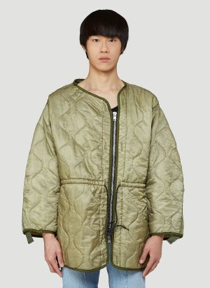 Bonum Quilted Jacket in Green