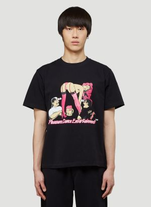 Pleasure Dance Entertainment T-Shirt in Black