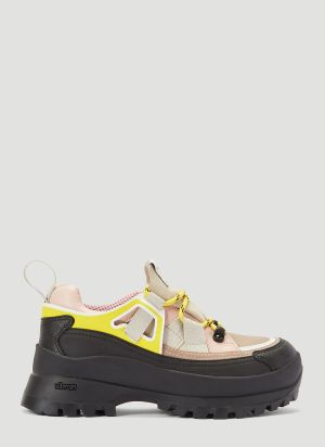 Stella McCartney Vibram-Sole Trail Sneakers in Pink