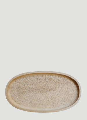 Zanat Touch Large Tray in Beige