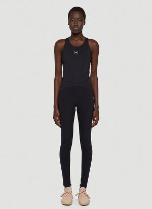 adidas by Stella McCartney Stretch Active Jumpsuit in Black