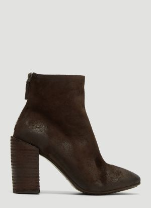 Marsèll Taporsolo Leather Heels in Brown