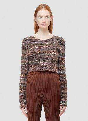 Our Legacy Shrunken Sweater in Brown