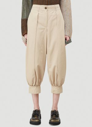 JW Anderson Tapered Pants in Beige