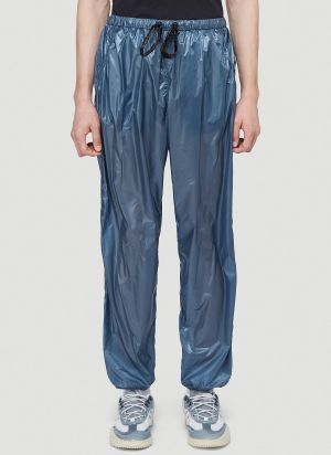 5 Moncler Craig Green Nylon Track Pants in Blue