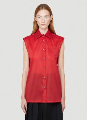 Prada Nylon Shirt in Red
