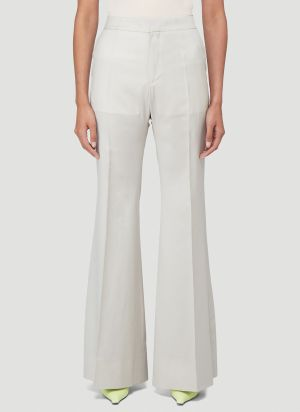 Kwaidan Editions Flared Pants in White
