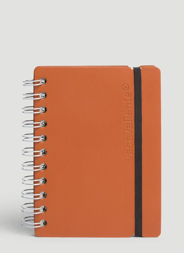 Vacavaliente A6 Ruled Notepad in Brown