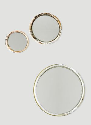 Valerie objects Set of Three Mirrors in Silver
