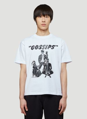 Pleasure Gossips T-Shirt in White