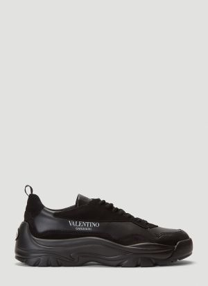 Valentino Gumboy Sneakers in Black