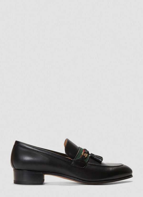 Gucci Paride Loafers in Black