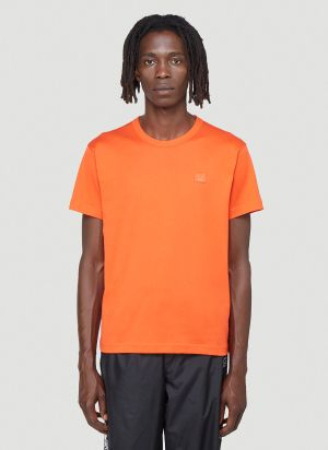 Acne Studios Face T-shirt in Orange