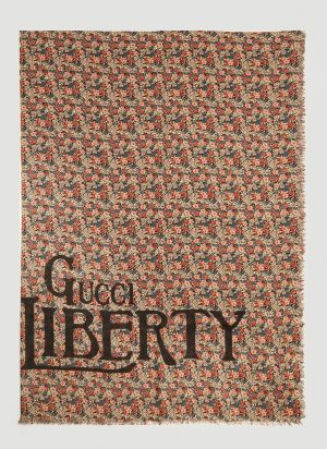 Gucci Liberty Scarf in Black