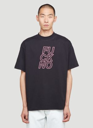 Honey Fucking Dijon Fuck No T-Shirt in Black