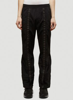 A-COLD-WALL* X Diesel Red Tag Drawcord Nylon Pants in Black
