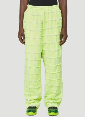 Martine Rose Late Night - Conscious Campaign 01 Track Pants in Yellow
