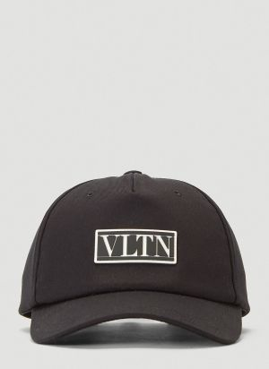 Valentino VLTN Baseball Cap in Black