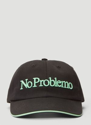 Aries No Problemo Baseball Cap in Black