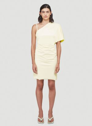 Maisie Wilen Slick Dress in Yellow