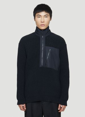Y-3 Chunky Knit Sweater in Black