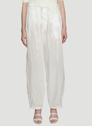 Kwaidan Editions Parachute Pants in White