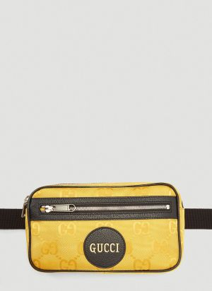 Gucci Eco-Nylon Belt Bag in Yellow
