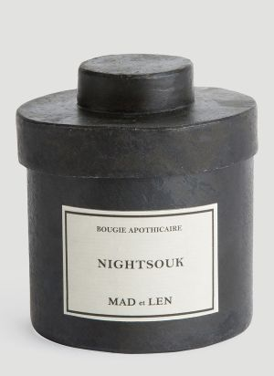 Mad & Len Night Souk Candle in Black