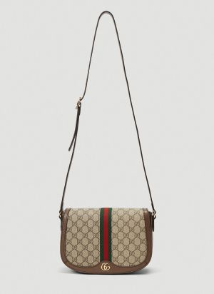 Gucci Ophidia GG Crossbody Bag in Brown