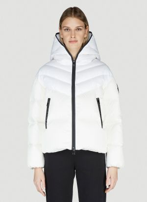 Moncler Guenioc Down Jacket in White