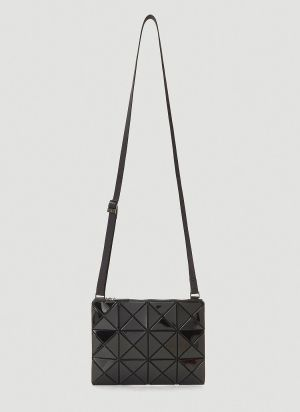 Bao Bao Issey Miyake Lucent Small Shoulder Bag in Black