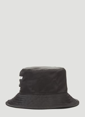 Honey Fucking Dijon Bucket Hat in Green in Black