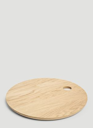 E15 Circular AC07 Cut Board in Brown