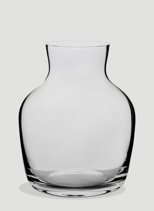 TG Round Glass Vase in White