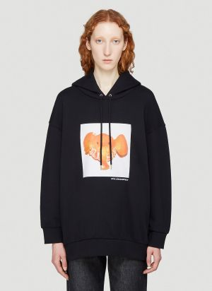 Stella McCartney Elephant Tangerine Sweatshirt in Black