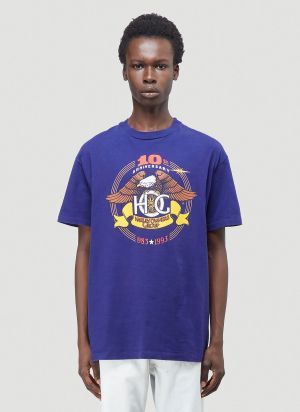 Phipps Harley Owners T-Shirt in Purple