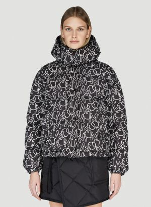 Moncler Daos Down Jacket in Black